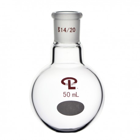 50mL  14/20  Single Neck  Round Bottom Flask