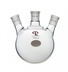 250mL  14/20  Angled  Three Neck Flask