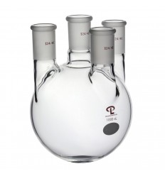 1000mL  24/40  Vertical  Four Neck Flask
