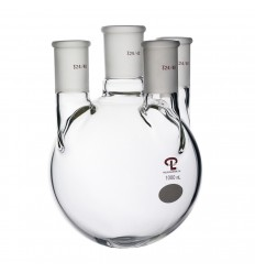 1000mL  side 24/40  center 29/42  Vertical  Four Neck Flask