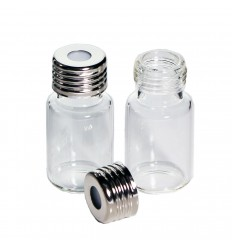 10 mL Headspace Vials and 18 mm Magnetic Screw-Thread Caps, Convenience Pack of 100