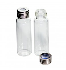 20 mL Headspace Vials and 18 mm Magnetic Screw-Thread Caps, Convenience Pack of 100